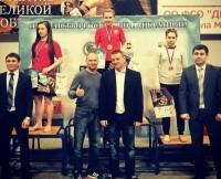 Студентка ЧГПУ Ксения Лачкова стоит на пьедестале выше всех/ Фото cap.ru