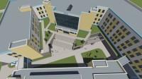 Проект средней школы на улице Гладкова.
