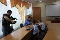 Телеоператоры и дети на съемках подружились. Фото с сайта dom-detstva.edu.cap.ru