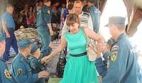 Август 2014-го. В Чебоксарском аэропорту приземлился самолет МЧС с беженцами с Украины.
