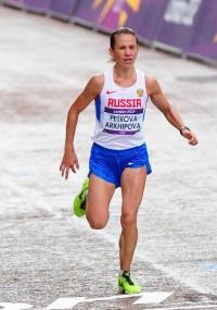 На Играх в Лондоне Татьяна Архипова выиграла бронзовую медаль.Фото rusatletics.ru