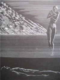 Гравюра Стасиса Красаускаса из цикла «Вечно живые»