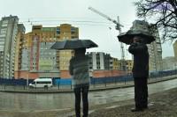 Дом на пр. 9-й Пятилетки обещают сдать к концу года.Фото Олега МАЛЬЦЕВА
