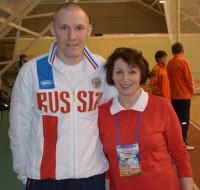 Михаил Ефремов уважает свою наставницу.Фото из личного архива Надежды ТОНИНОЙ