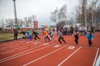 В Чебоксарах забегам школьников не помешали даже капризы погоды.Фото Максима ВАСИЛЬЕВА