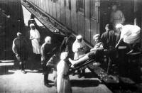 В годы войны по фронтам прошло около 12 тысяч военно-санитарных поездов.Фото с сайта shel-vestnik.ru