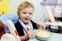 Каша на завтрак полезна и взрослым, и детям. Фото Никиты ПАВЛОВА
