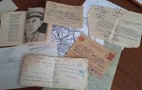 Письма с фронта и стихи Ивана Чекушкина. Фото Евгении АЛЕКСЕЕВОЙ