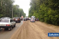 20 июля в Новочебоксарске на улице Коммунистической водитель Opеl Astra наехал на 11-летнего мальчика, перебегавшего дорогу вне пешеходного перехода. Фото с сайта zarulem.ws