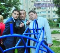 Глава городской администрации Олег Бирюков (справа) и коммунальщики ставят перед собой новые задачи. Фото Олега МАЛЬЦЕВА
