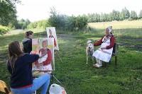 Дорого время в деревне в страду, но для искусства ничего не жалко. Фото www.cap.ru