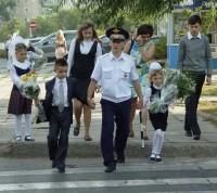 1 сентября «гаишники» снова пойдут в школу.Фото пресс-службы УГИБДД МВД по Чувашии