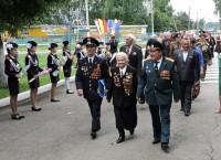 Почетный строй в честь почетных гостей.Фото Антонины АЛЕКСАНДРОВОЙ
