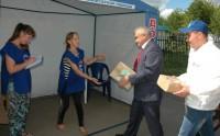 Ручки, тетрадки, краски – в дар школьникам Луганска и Донецка.