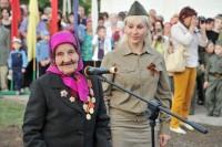 Ветерана Великой Отечественной войны Матрену Александрову встречали овацией.Фото cap.ru