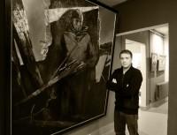 Несколько лет Александр Федоров работает над серией полотен о воинах.