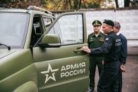 Наградной УАЗ Даниил Храмов решил оставить дома.Фото Максима ВАСИЛЬЕВА