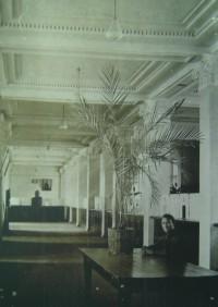 Интерьер Госбанка, 1940 год.