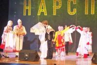 Мастера из Чувашии продемонстрировали свадебный обряд.