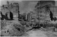 После штурма Кенигсберг представлял сплошные развалины.