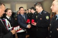 – Спасибо, ребята, за отличную службу! – благодарил руководитель Администрации Главы Чувашии Юрий Васильев.