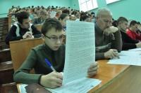 Для ответа на каждый вопрос теста отводилось чуть менее двух минут.Фото Олега МАЛЬЦЕВА