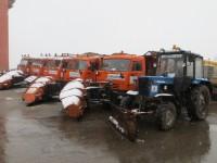 Свыше сотни единиц спецтехники работают на дорогах республики с начала сезона.Фото cap.ru