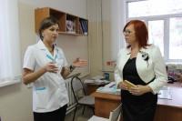 Гости из Ульяновской области познакомились с организацией работы акушерско-гинекологической службы республики.Фото cap.ru