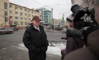 Вячеслав Иванов помнит немало историй из жизни этого знаменитого дома.Фото Максима ВАСИЛЬЕВА