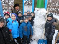 «Свой брат» снеговик