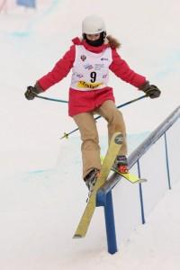Трюки на лыжах – для Ланы не проблема.Фото с сайта cap.ru