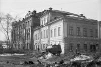 Исторический дом перед сносом. 1970-е годы.