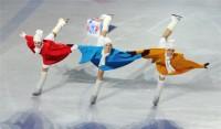 «Щелкунчик на льду» стал первой ласточкой новогодних представлений «Арены».Фото Олега МАЛЬЦЕВА