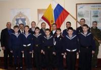 «Наша смена!» – так воспринимают чувашских кадетов на флоте.Фото Евгении ДРУЗЬЯК