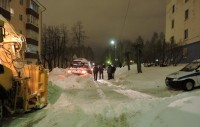 На узких дорогах не обошлось без эвакуации.Фото cap.ru