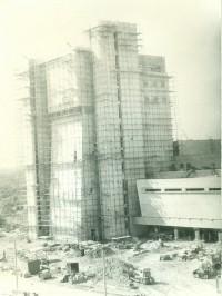 Июль 1985 года. Музыкальный театр. «СУОР» за работой.