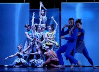 Сцена из балета «Зимняя роза».