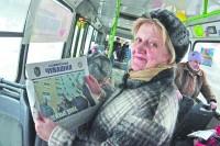 Подписывайтесь – и читайте газету дома, на работе и в дороге.Фото Олега МАЛЬЦЕВА