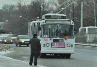 За троллейбусами следят не только пассажиры.
