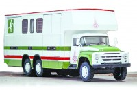 Фургон для перевозки лошадей на шасси ЗИЛ-133Г1.