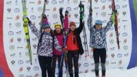 Девушки из Чувашии вышли на призовой подиум строго в порядке прохождения этапов эстафеты.Фото cap.ru