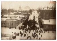 Улица Cоборная до революции. Фото с сайта EtoRetro.ru