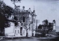 30-е годы, разрушение колокольни Никольского собора.Фото с сайта EtoRetro.ru