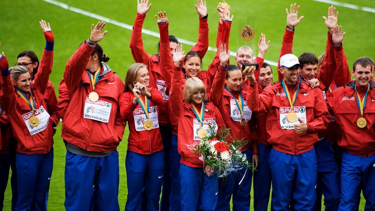 Российская сборная по легкой атлетике