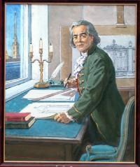 Архитектор П. Егоров. Картина Н. Овчинникова.