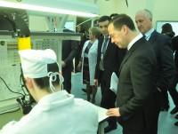 Дмитрий Медведев: «Здесь много полезного сделано». Фото Олега МАЛЬЦЕВА