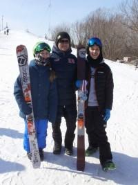 Для Ланы Прусаковой, Никиты Васильева и Дмитрия Мулендеева спортивный сезон сложился удачно. Фото автора