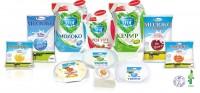 Широкий ассортимент натуральной аккондовской молочной продукции под брендами «От Красули» и «Гармония дня».