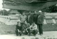 Чувашские ликвидаторы перед возвращением домой. Фото из личного архива Виктора Байдулова
