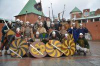 Перед чебоксарскими молодцами не устояла марийская крепость. Фото Евгения ВАСИЛЬЕВА